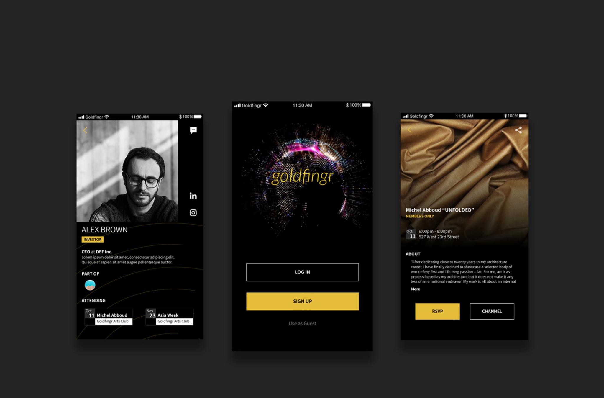 goldfingr - Design