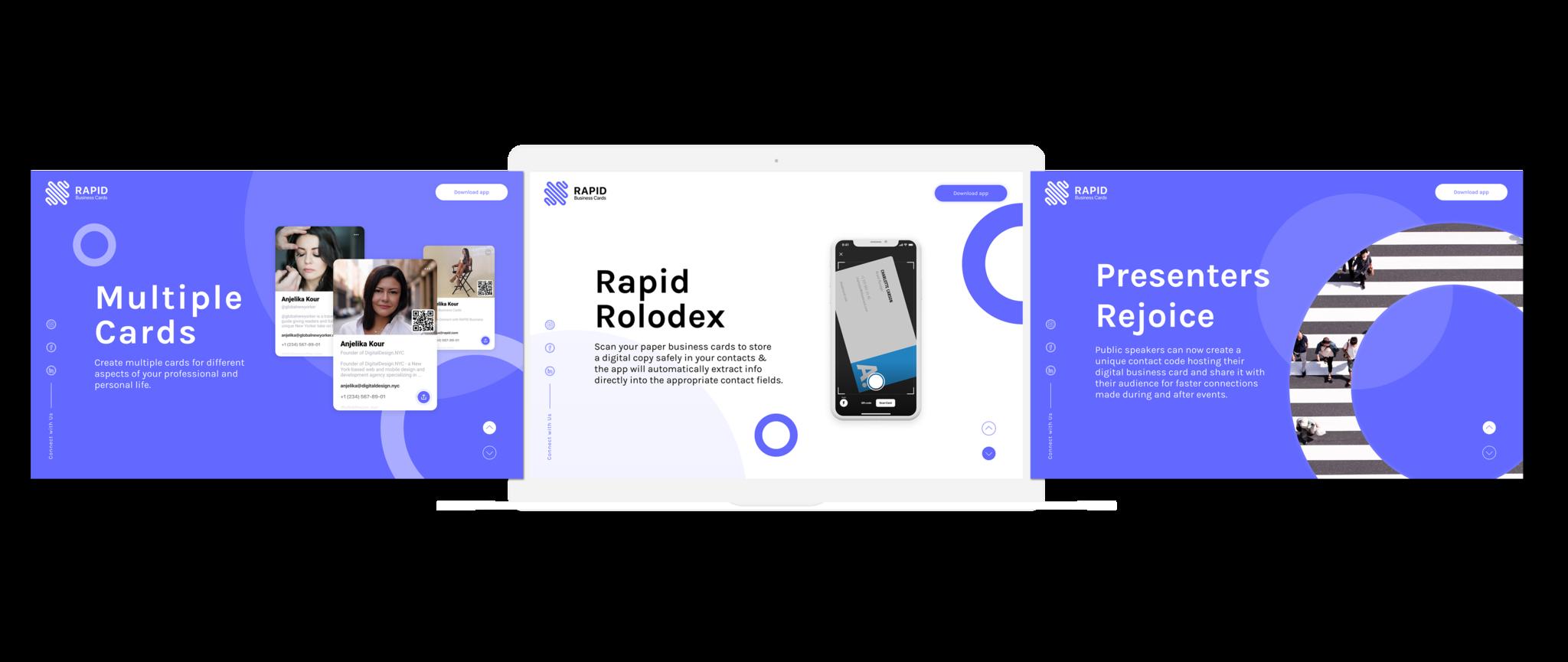 RAPID Business Cards - Development