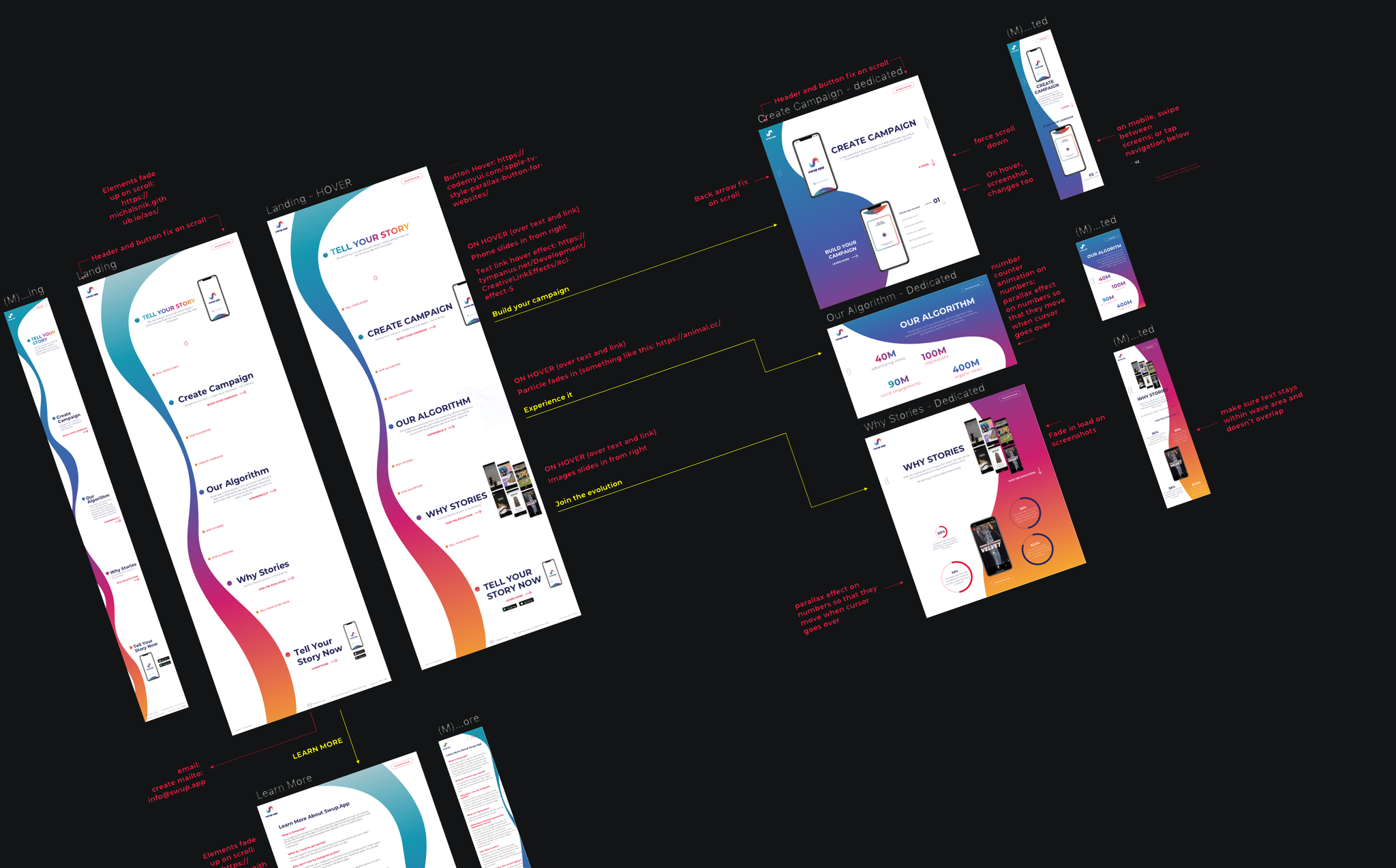 Swup.App - Development